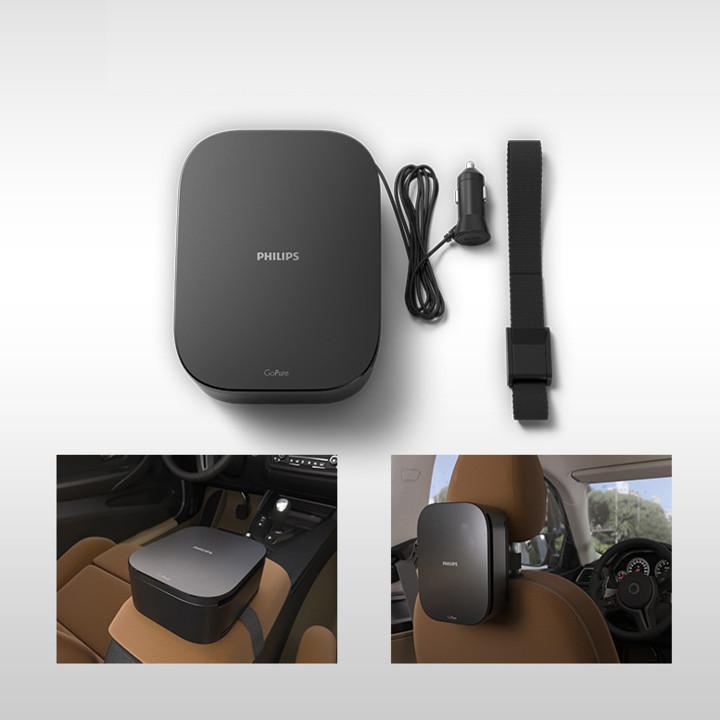 Máy khử mùi, lọc không khí trên xe ô tô Philips GP3201 - Hàng Nhập Khẩu