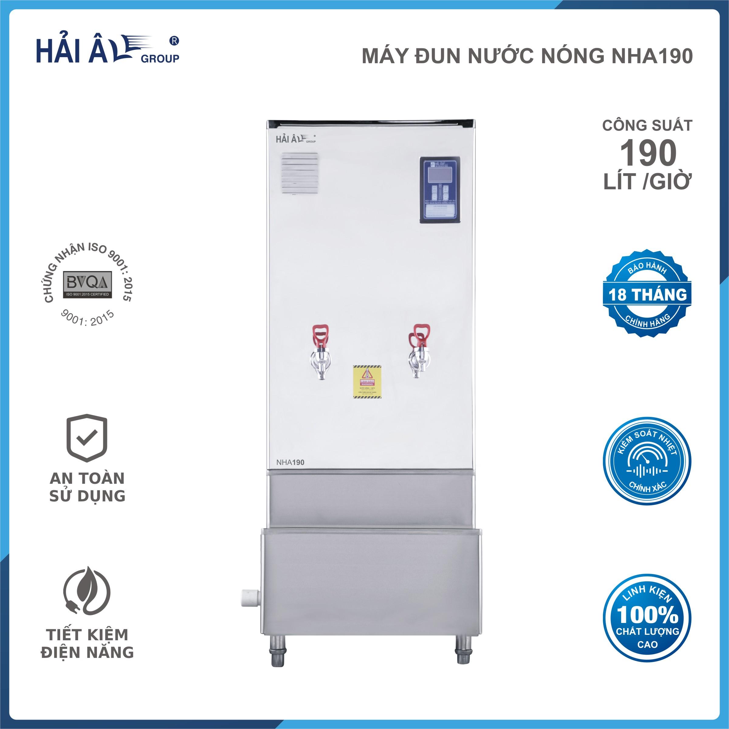 Máy đun nước nóng Hải Âu NHA-190 - Hàng Chính Hãng