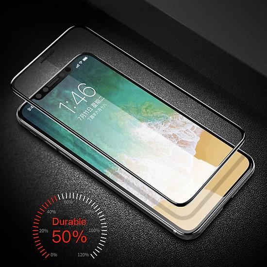 Miếng dán kính cường lực cho iPhone 11 Pro (5.8 inch) hiệu ANANK Nhật Bản (Full 3D, 0.2mm, phủ nano, chống tia cực tím, Mặt kính AGGC) - Hàng nhập khẩu