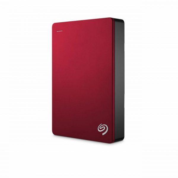 Ổ Cứng Di Động Seagate 4TB 2.5 Backup Plus USB 3.0 - Màu Đỏ - Hàng Nhập Khẩu