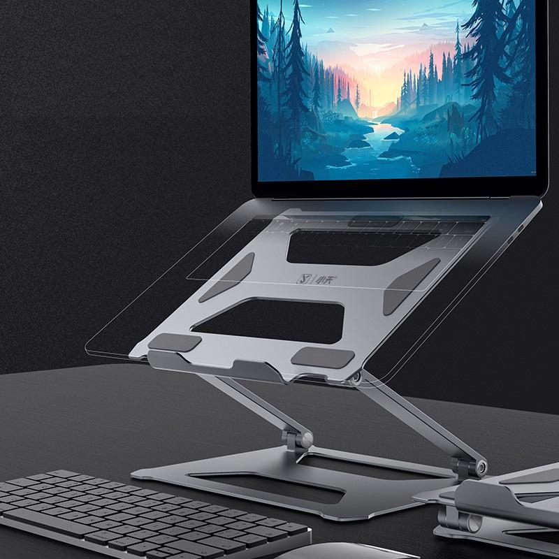 Giá đỡ tản nhiệt chỉnh độ cao cho laptop máy tính bảng P18 SSKY - Hàng nhập khẩu