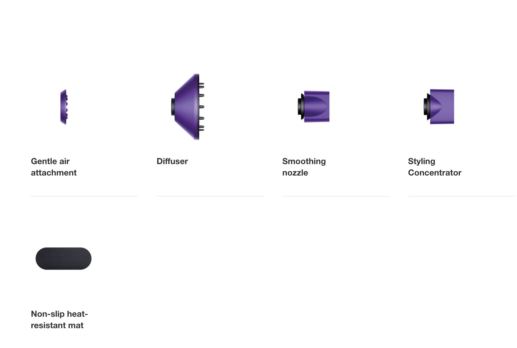 Máy Sấy Tóc Dyson Supersonic Hair Dryer - Tím