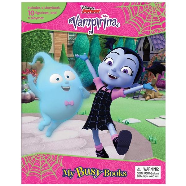 Disney Jr. Vamperina My Busy Books