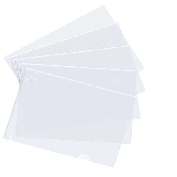 Túi 10 bìa lá F4 Plus trắng