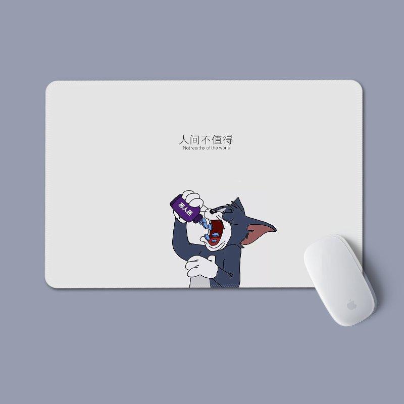 Miếng di chuột in hình TOM VÀ JERRY miếng kê chuột miếng lót chuột cartoon anime chibi tiện lợi xinh xắn