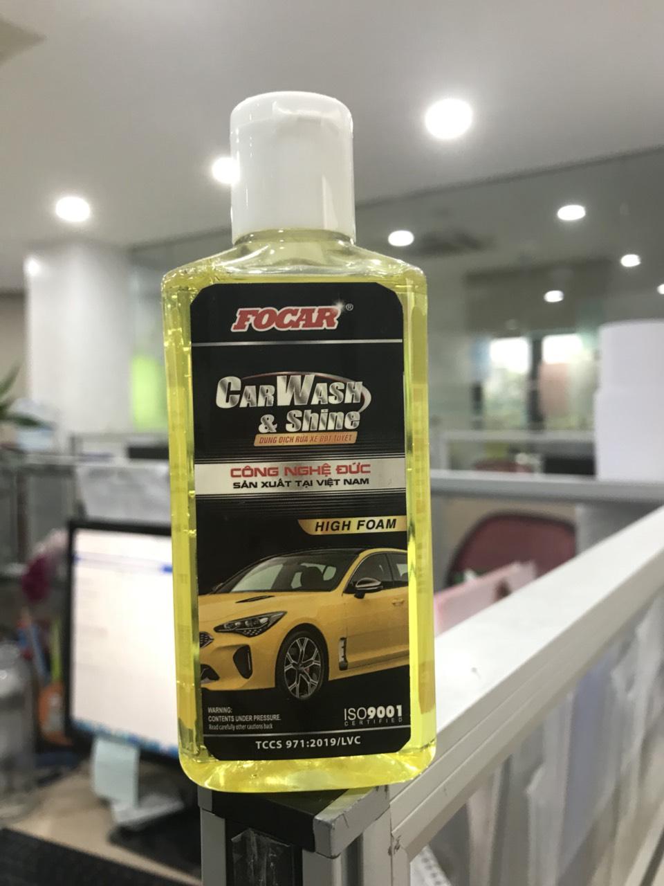 Combo 2 chai bọt tuyết rửa xe ô tô FOCAR Screen Wash 100ml - Tỷ lệ pha 1:120