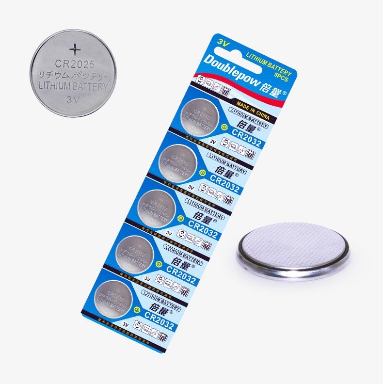 Vỉ 5 Viên Pin CR2025 Lithium Bettyry 3V Doublepow Dùng Cho Điều Máy Tính Cầm Tay, Điều Khiển, Cân Sức Khỏe, Đồng Hồ, Bo Mạch Chủ CMOS