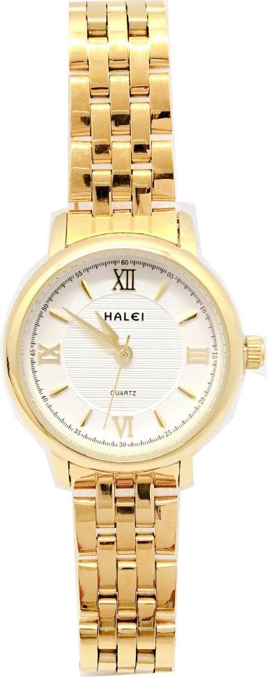 Đồng hồ Nữ Halei - HL550 Dây vàng - Trắng