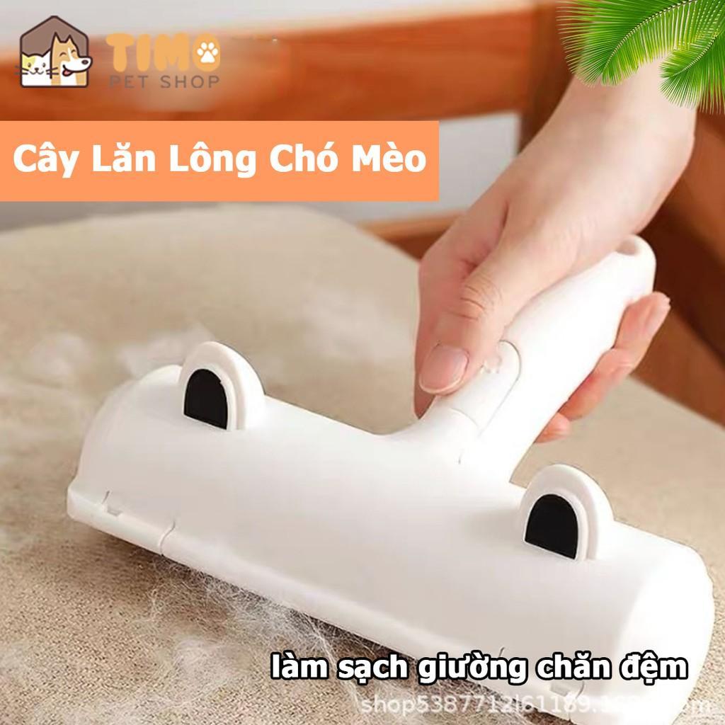 Cây Lăn Làm Sạch Hút Lông Chó Mèo - Lăn Tĩnh Điện Hút Lông Thú Cưng