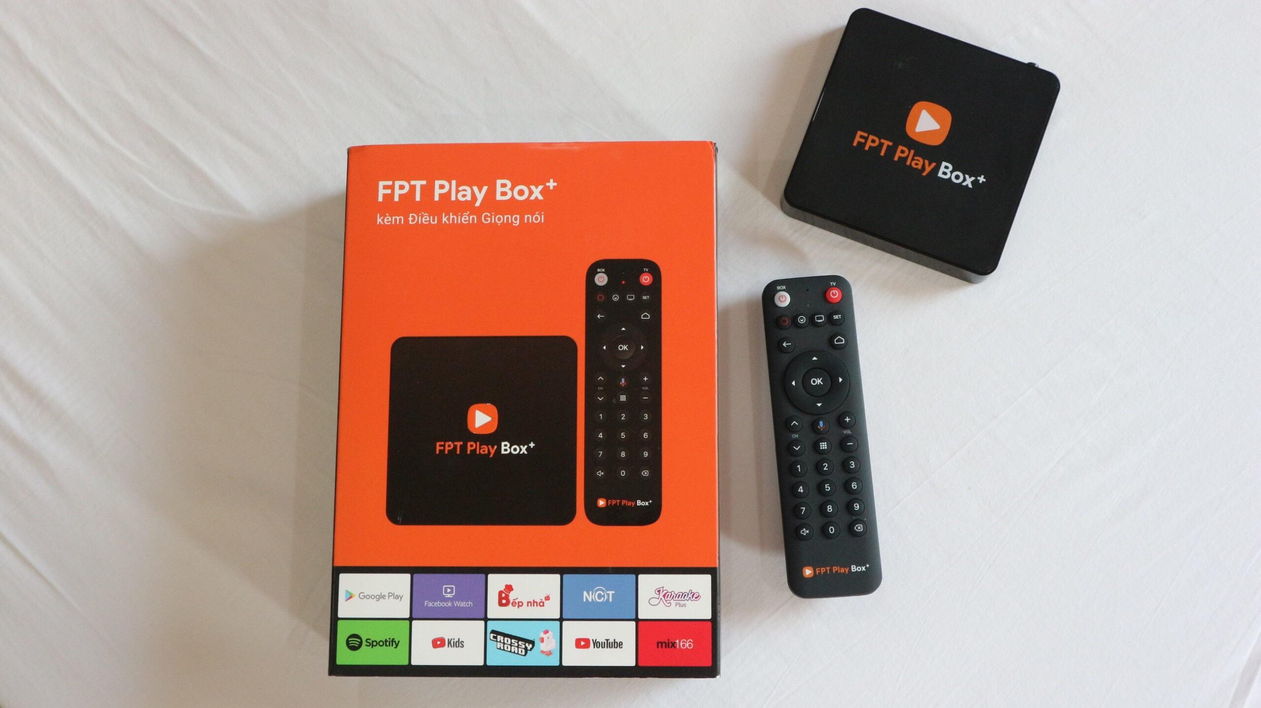 Sản phẩm FPT PLay Box
