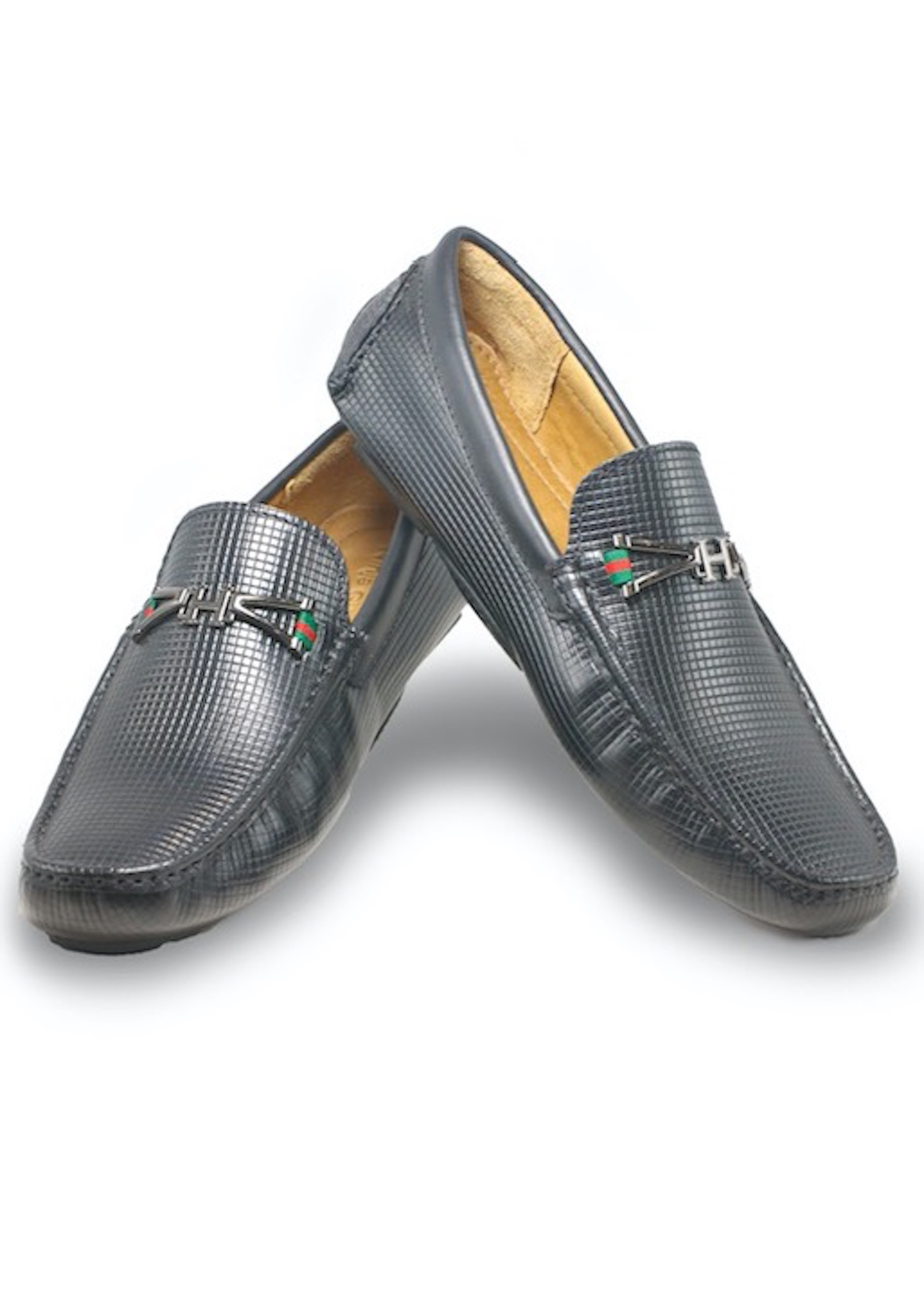 Giày lười nam da bò cao cấp siêu mềm sieu nhẹ màu đen