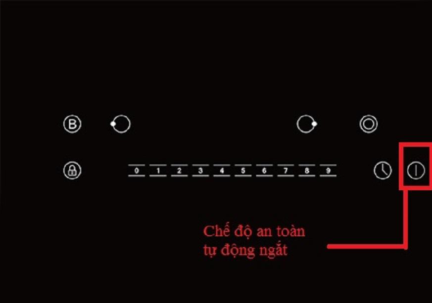 Bếp từ FERROLI ID-BN4000 mặt kính Schott Ceran, điều khiển số - hàng chính hãng