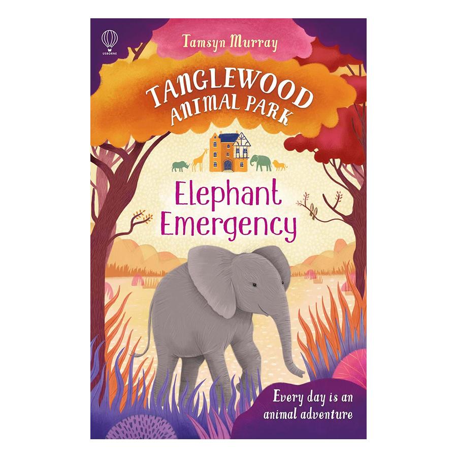 Usborne Young Fiction Animal Park: Tanglewood Animal Park Elephant Emergency