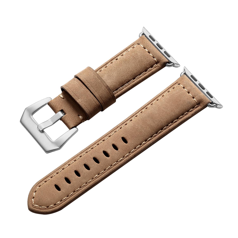Dây Da Suede Leather cho Apple Watch 42/44mm