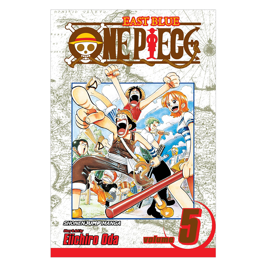 One Piece 05 - Tiếng Anh