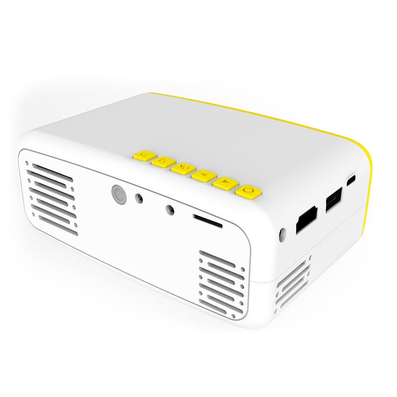 Máy Chiếu Mini Nhỏ Gọn Dùng Tại Nhà LCD LED CS03 Cao Cấp AZONE