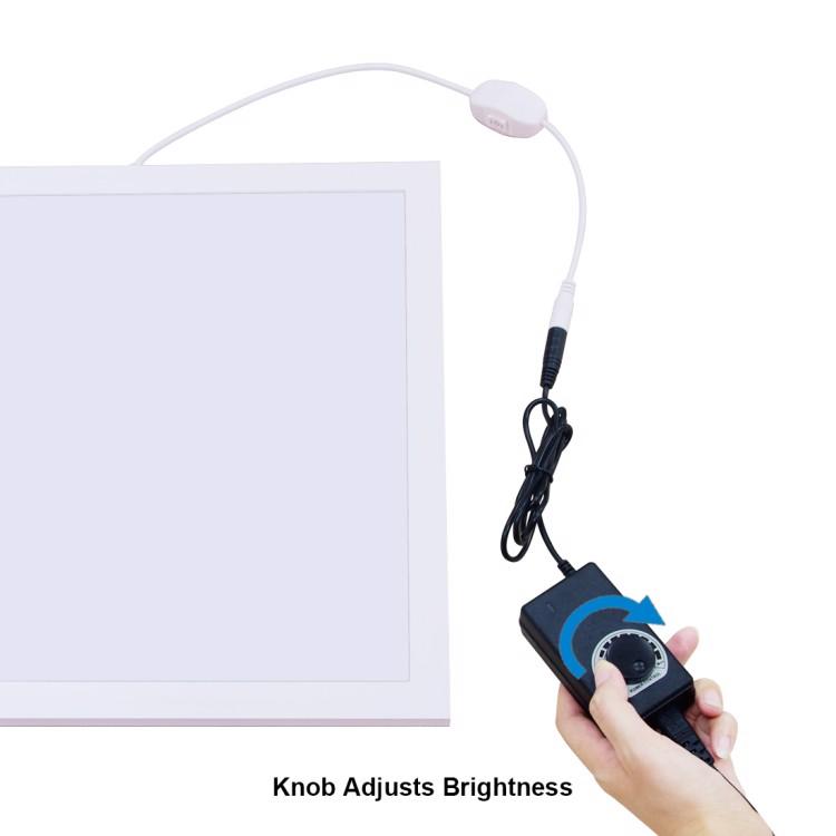 Tấm đèn LED điều chỉnh sáng 1200LM 34.7cm x 34.7cm Puluz PU5138EU - Hàng chính hãng