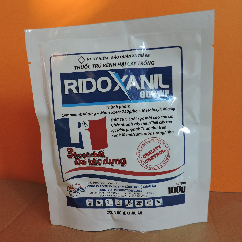 Thuốc Trừ Bệnh Hại Cây Trồng RIDOXANIL 800WP (100gr)