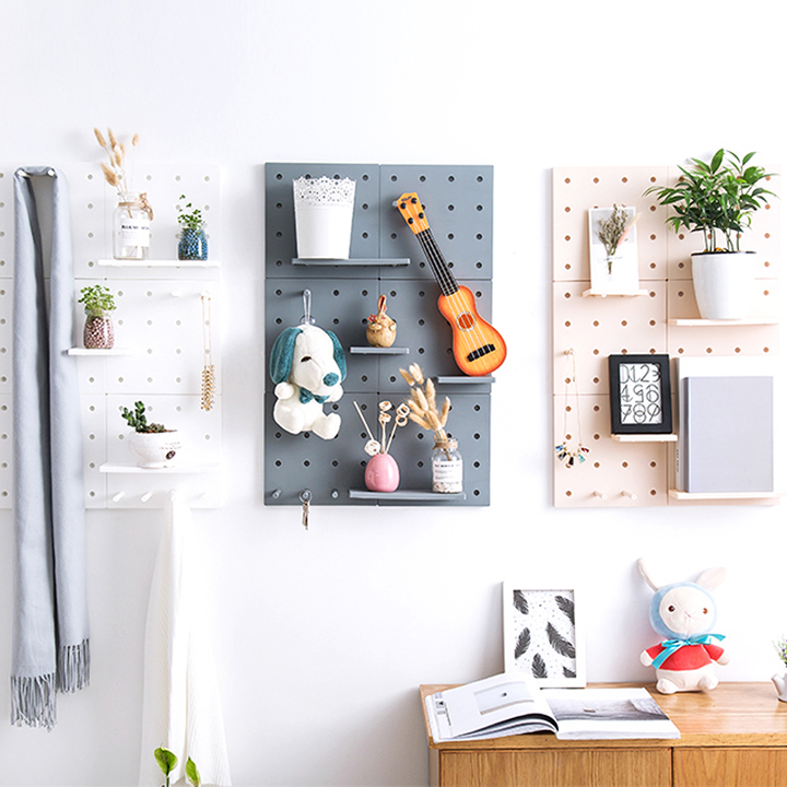 Tấm nhựa treo tường đựng đồ đa năng - Giao màu ngẫu nhiên