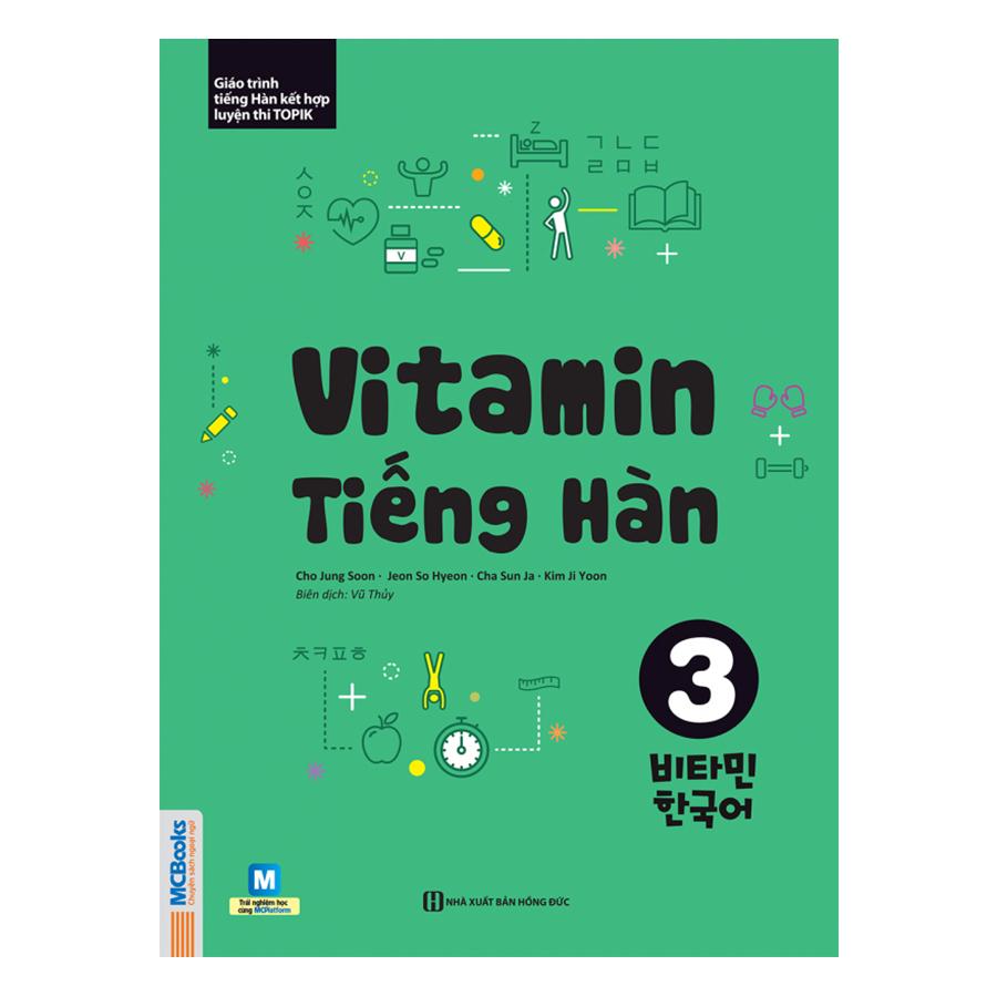 Vitamin Tiếng Hàn Tập 3