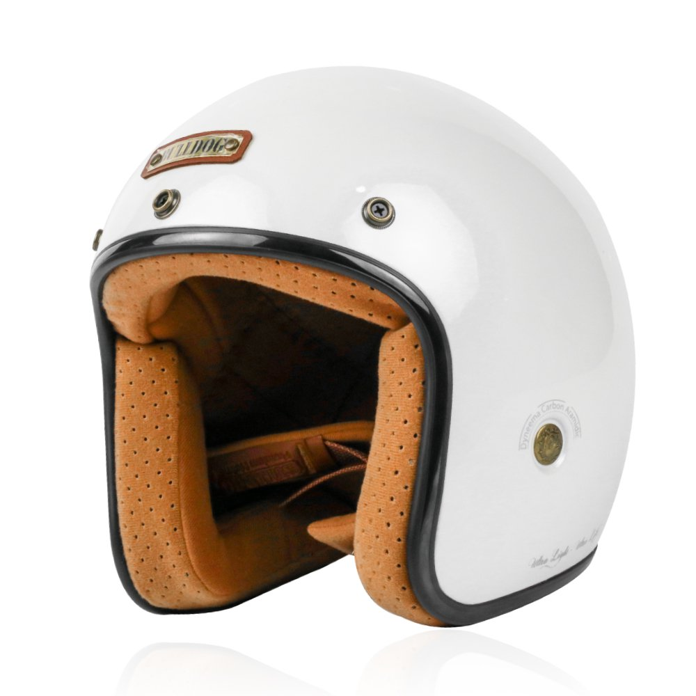 Mũ Bảo Hiểm 3/4 Bulldog Heli sợi thủy tinh (Fiberglass)