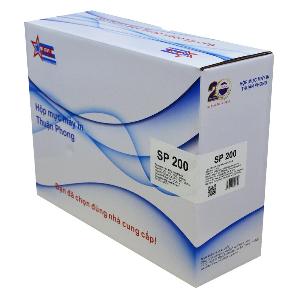 Hộp mực Thuận Phong SP200 dùng cho máy in Ricoh SP 200/ 201/ 200S/ 202SN/ 203SF/ 203SFN/ 210/ 210SU/ 212SFNw/ 212SFw - Hàng Chính Hãng