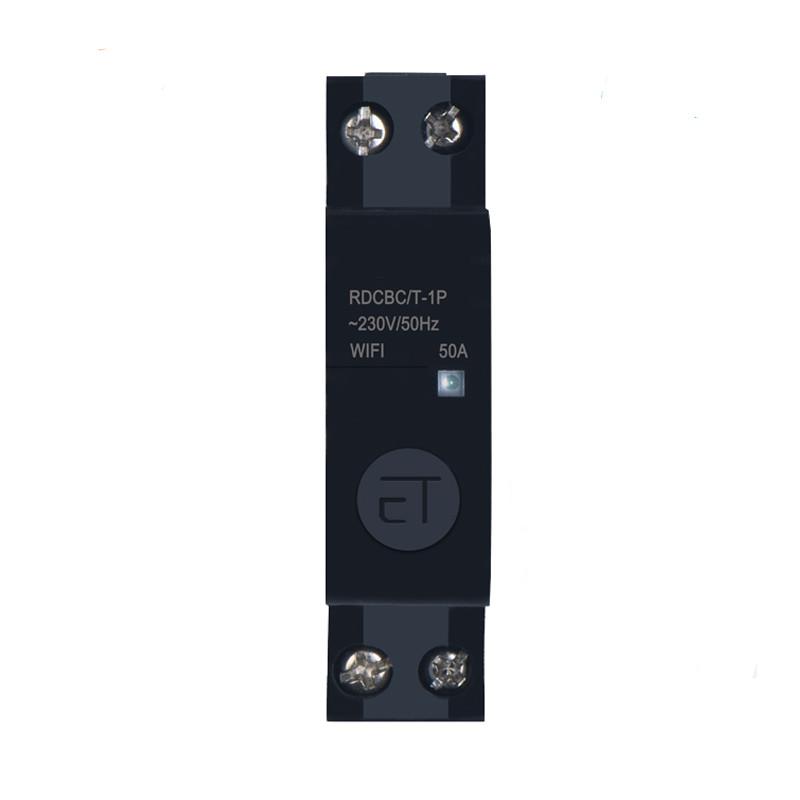 Công Tắc Wifi Công Suất Lớn Lắp Tủ Điện 50A 1Pha SHP-CB6