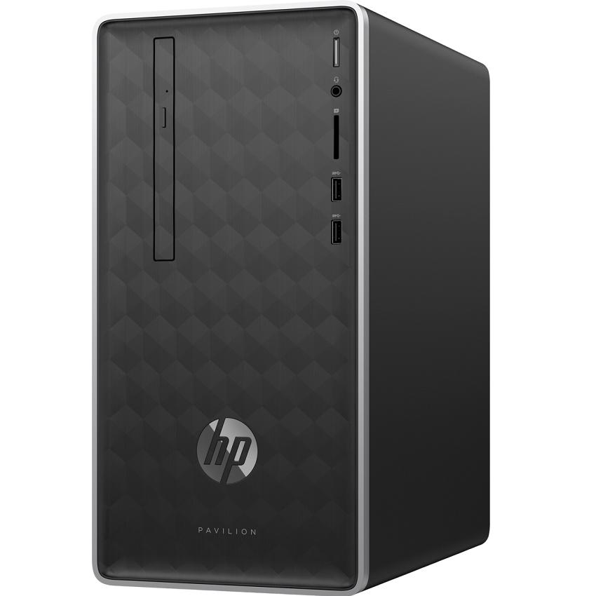 PC HP Pavilion 590-p0108d 6DV41AA (Core i3-9100/ 4GB RAM/ 1TB HDD/ DVDRW/ WL/ K+M/ Win 10) - Hàng Chính Hãng
