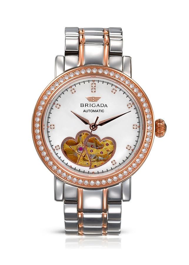 Đồng hồ nữ cơ Automatic Brigada 6002L