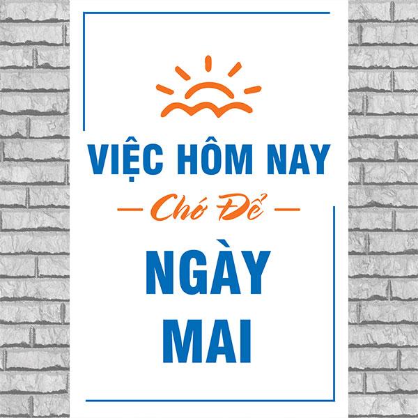 Tranh slogan văn phòng DLVP-24 (Tưng tốc để thành công)