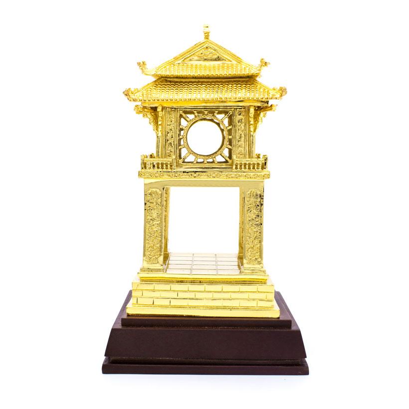 Quà tặng lưu niệm Việt Nam: Khuê Văn Các mạ vàng 24K sz nhỡ