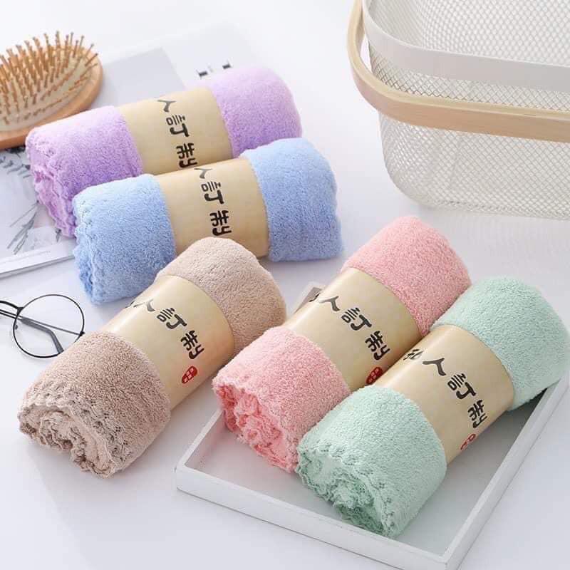 Khăn tắm Khăn tắm lông cừu Xuất HÀN CAO CẤP Khổ Lớn Siêu Mềm Mại thấm nước cực  nhanh màu sắc đa dạng