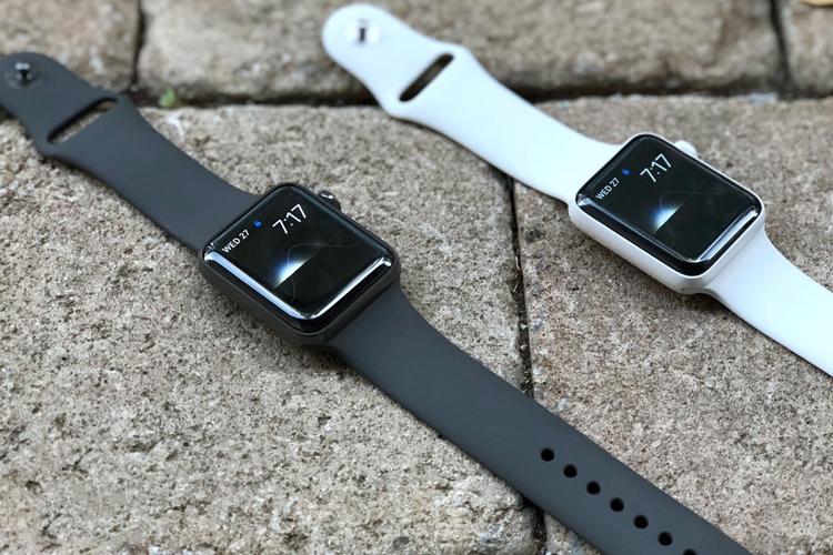 Đồng Hồ Thông Minh Apple Watch Series 3 GPS Space Grey Aluminium Case With Black Sport Band - Hàng Nhập Khẩu