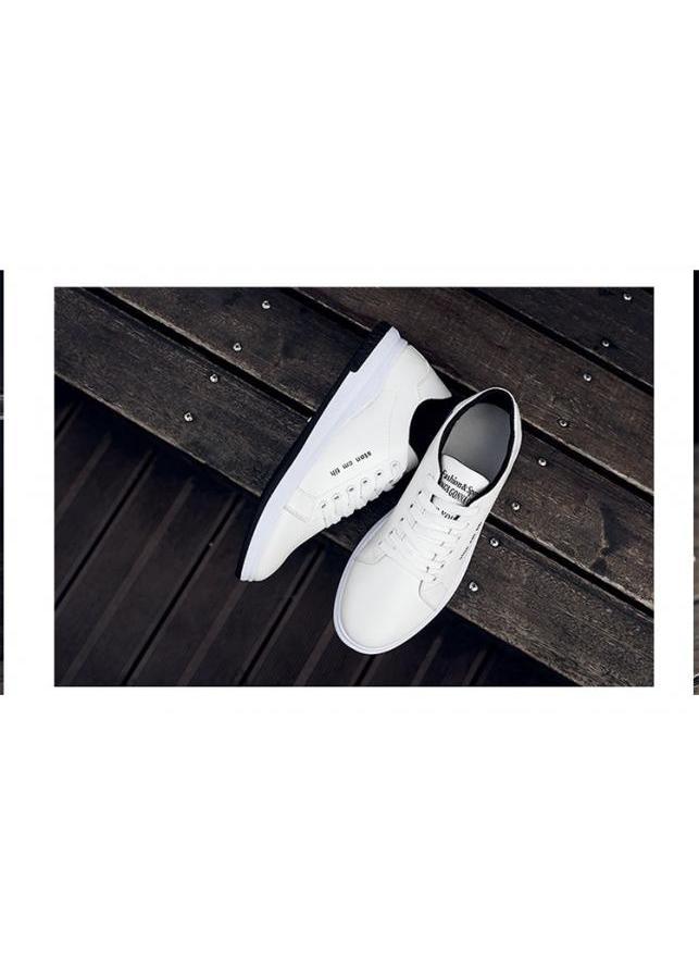 Giày Sneaker Nam YAMET N5638TD Trắng Phối Đen