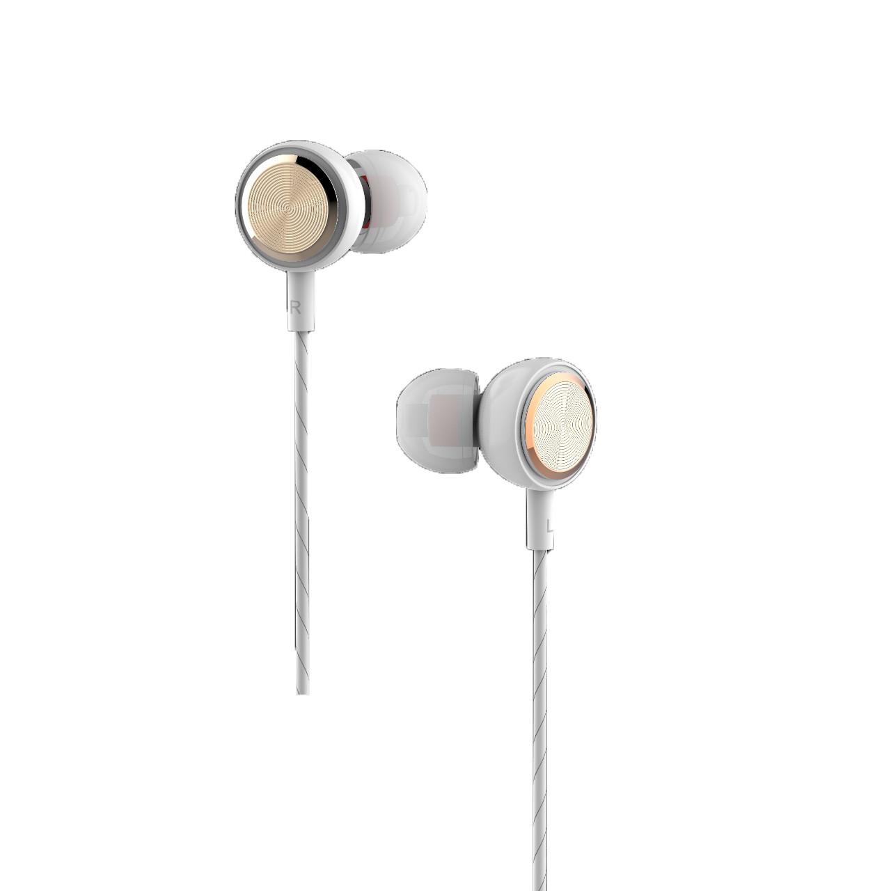 Tai nghe nhét tai có dây Jack cắm 3.5mm có Mic/Microphone VivuMax J12 - Cho iOS/Apple (iPhone/iPad), Android (Samsung, Sony, Xiaomi, Huawei, Oppo) Màu Trắng/Đen - Hàng Chính Hãng