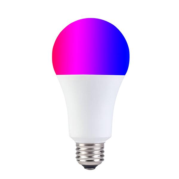 Bóng đèn LED 7 màu Wifi thông minh 7W WIFI-RGBCCT-A19-7W