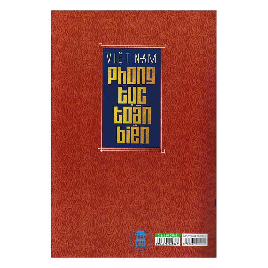 Việt Nam Phong Tục Toàn Biên