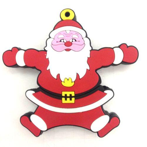 Quà tặng giáng sinh USB 16GB Hình Ông Già Noel (Đỏ)
