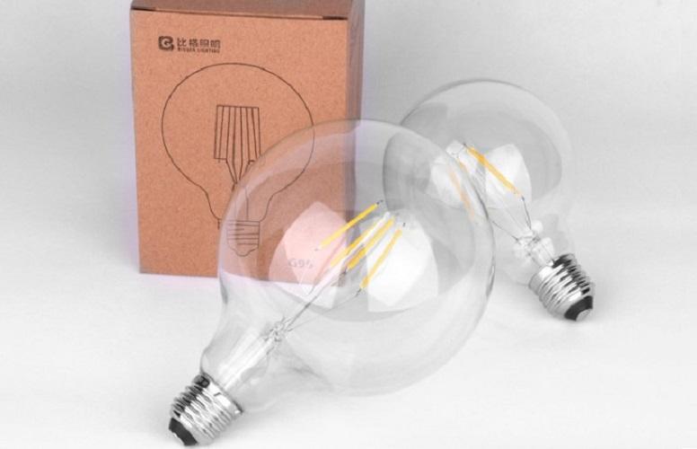Bộ 5 bóng đèn Led Edison G125 8W đui E27