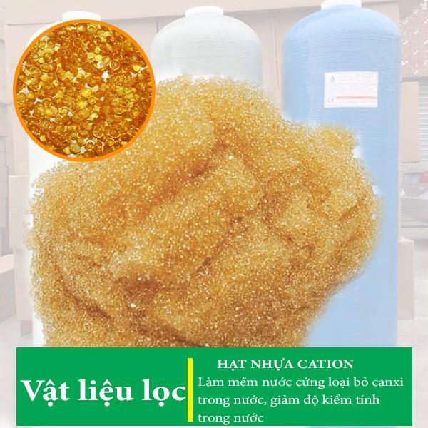 Combo 5kg Hạt catrion xử lý nước cứng sinh hoạt gia đình, xử lý nước đá vôi, đóng cặn
