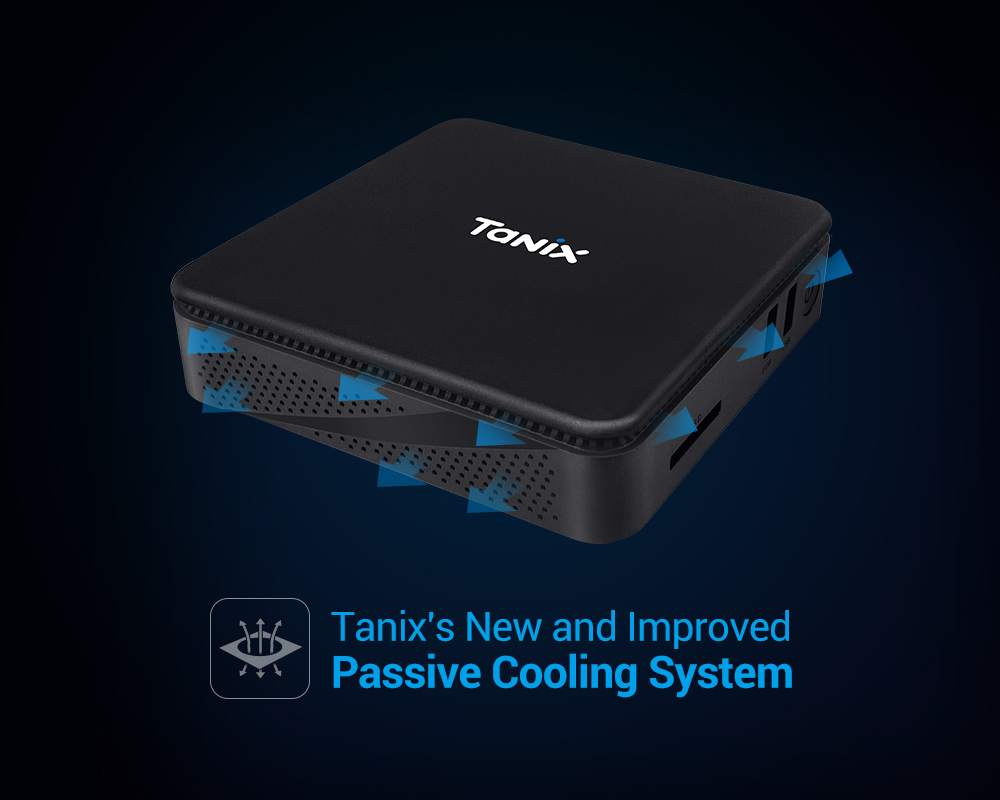PC mini TANIX TX 85 Intel Quad Core Z8350 on board,4G DDR3L on board 64G - Hàng chính hãng