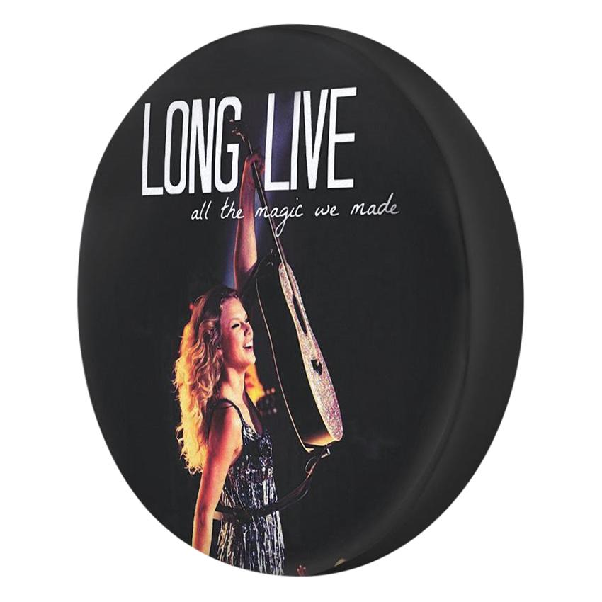 Gối Ôm Tròn Taylor Swift Long Live - GOZUP011