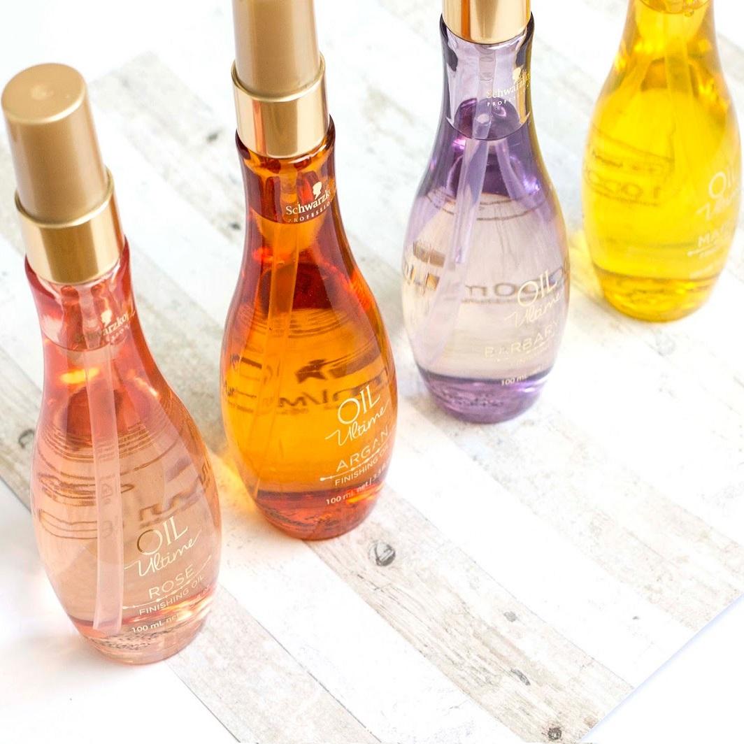 Tinh dầu dưỡng tóc Schwarzkopf OIL Ultime Argan Finishing Oil 100ml từ sợi vừa đến to sợi  (vàng cam)