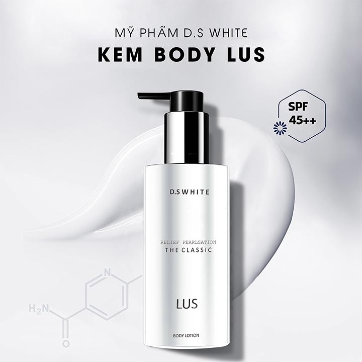 Kem Body Lus D.S White (250ml)