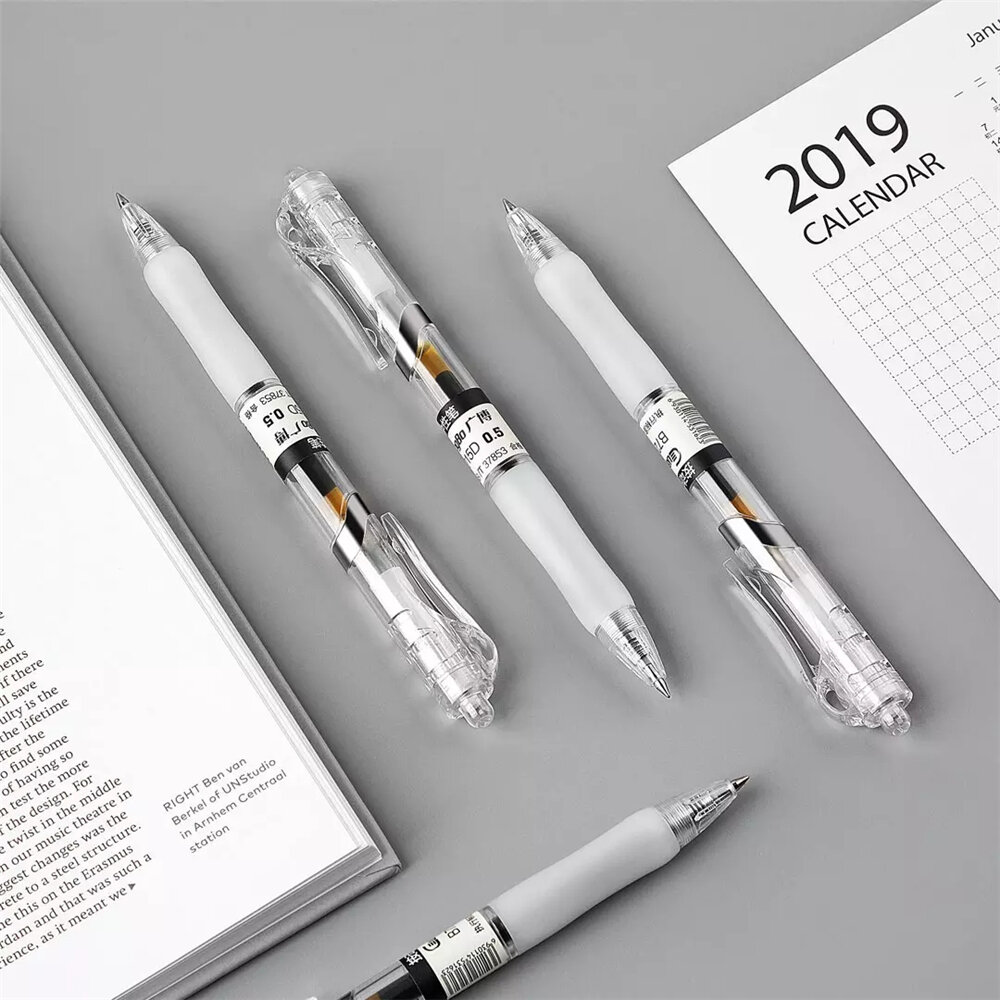 Bộ 3 bút ký tên 0.5mm GUBB72015 - màu xanh