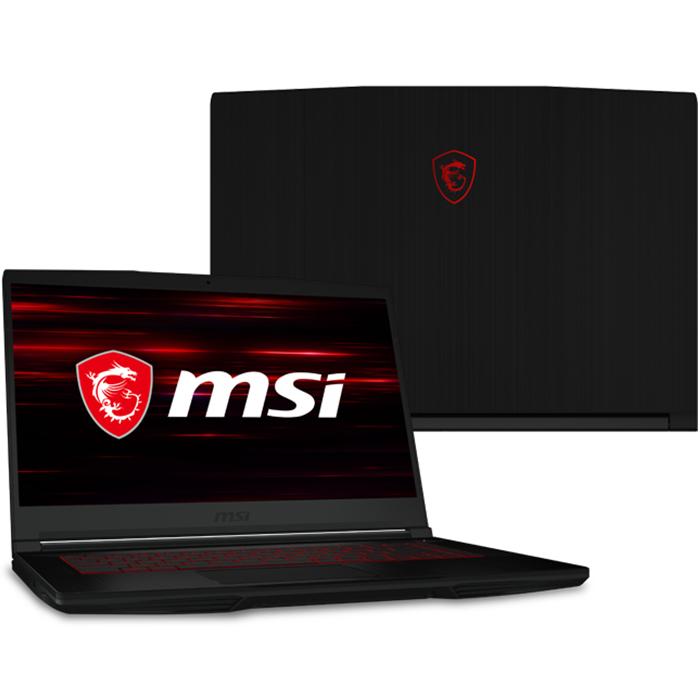 Laptop MSI GF63 Thin 10SCSR-830VN (Core i7-10750H/ 8GB DDR4 2666MHz/ 512GB SSD M.2 PCIE/ GTX 1650Ti 4GB GDDR6 with Max-Q Design/ 15.6 FHD IPS, 144Hz/ Win10) - Hàng Chính Hãng