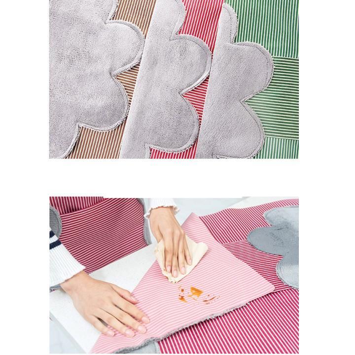 Tạp dề yếm có túi Hàn Quốc 2 trong 1