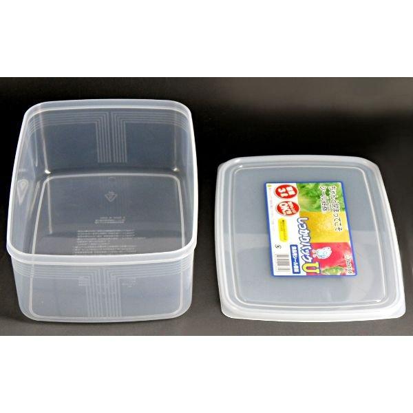 Bộ 3 hộp đựng thực phẩm bằng nhựa PP cao cấp 3L - Hàng nội địa Nhật
