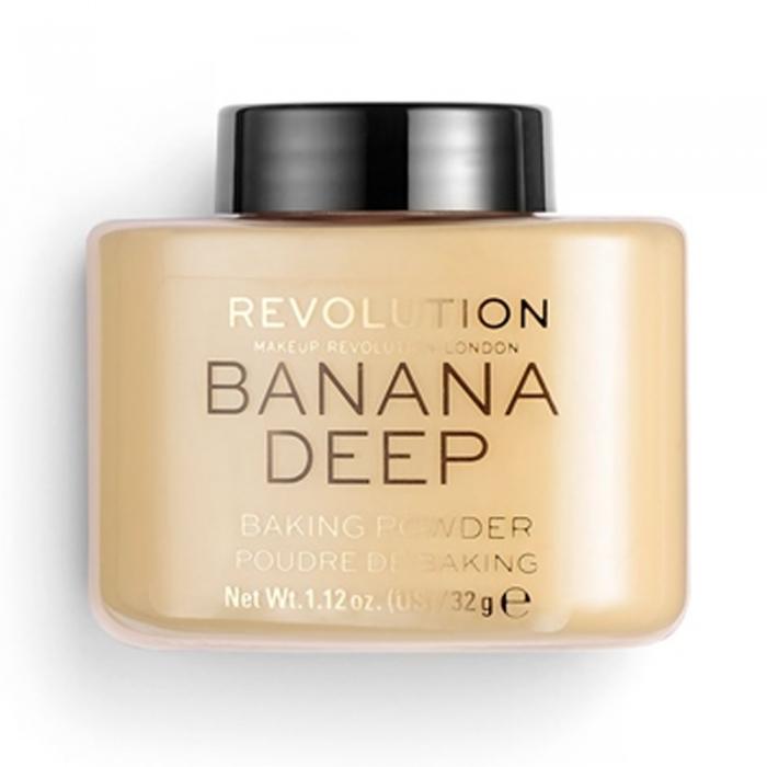 Phấn phủ dạng bột Revolution Luxury Power Banana Deep - 32g