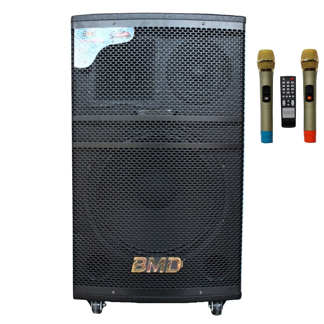 Loa Kéo Di Động Karaoke Bass 40 BMD LK-40B80 (800W) 4 Tấc - Màu Ngẫu Nhiên - Chính Hãng